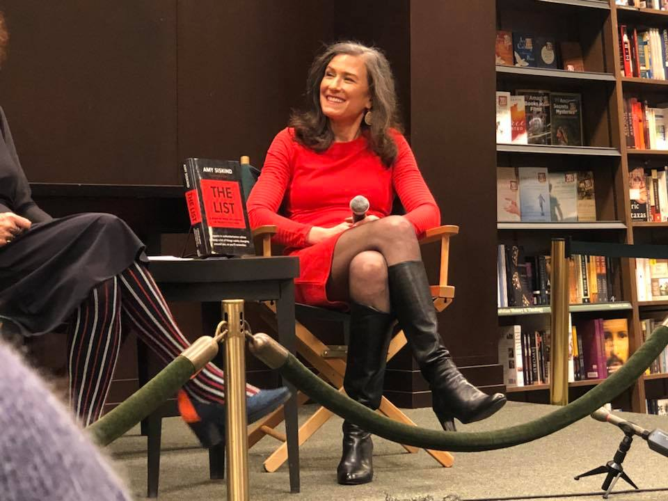 Amy Siskind book tour reading