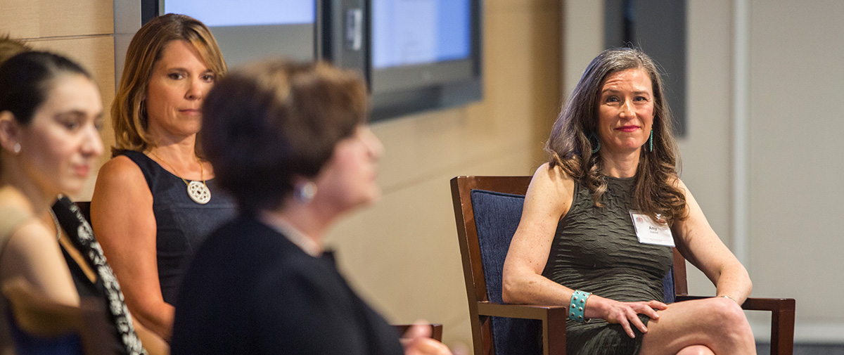 Amy Siskind at National Girlfriends Networking Day panel for The New Agenda