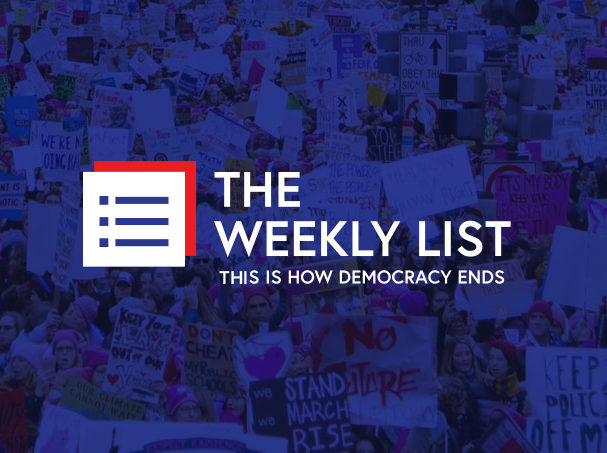 The Weekly List logo